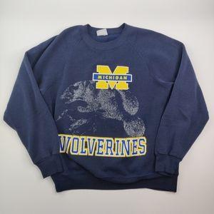 Vintage University of Michigan Sweatshirt Lee